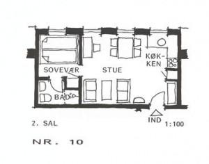 Lejlighed 10