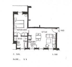 Lejlighed 11