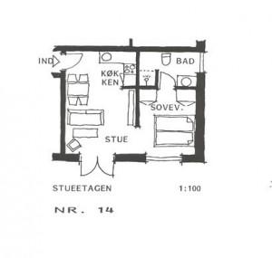 Lejlighed 14