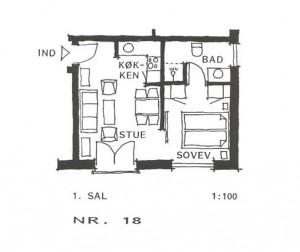 Lejlighed 18