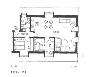 Lejlighed 021