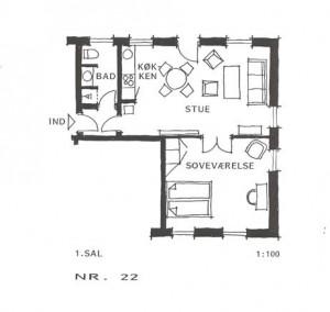 Lejlighed 22
