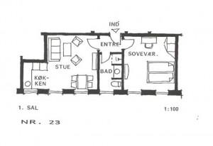 Lejlighed 23