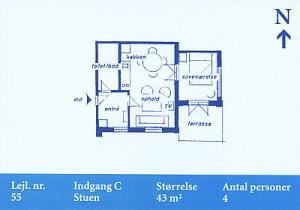 Skagenklit - Lejlighed 55