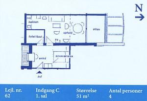 Skagenklit - Lejlighed 62